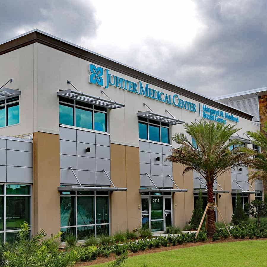 JUPITER, FLORIDA/USA - JANUARY 24, 2015: The new Margaret Niedland Breast Center on the campus of the Jupiter Medical Center, paid for with local private donations.