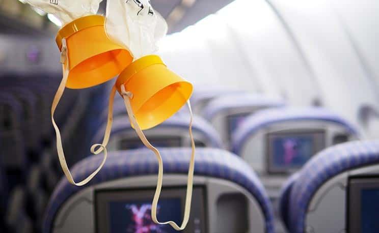 Airplane Oxygen Mask