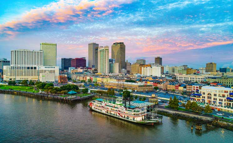 New Orleans Cityscape